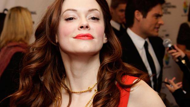 Rose McGowan is in hot water over IRA remarks <b>Photo:</b> Getty Images