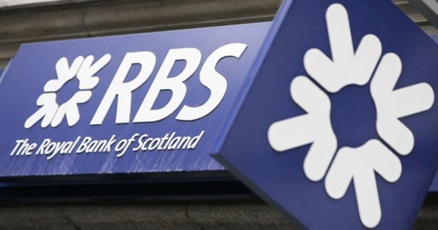 A Royal Bank of Scotland branch logo is pictured in central London Credit: SHAUN CURRY/AFP/Getty Images