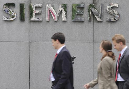 Siemens: job cuts. Photo: Getty Images