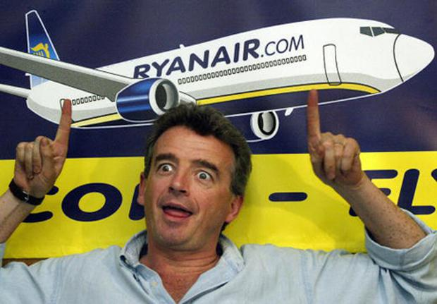 Ryanair chief executive Michael O'Leary. Photo: THOMAS LOHNES/AFP/Getty Images