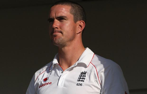 Kevin Pietersen of England. Photo: Hamish Blair, Getty Images.