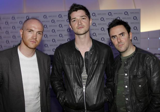 The members of 'The Script' <b>Photo</b> Getty Images