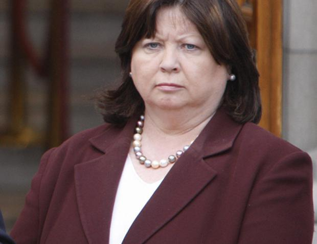 The Minister for Health Mary Harney. Photo: Peter Muhly, Getty Images