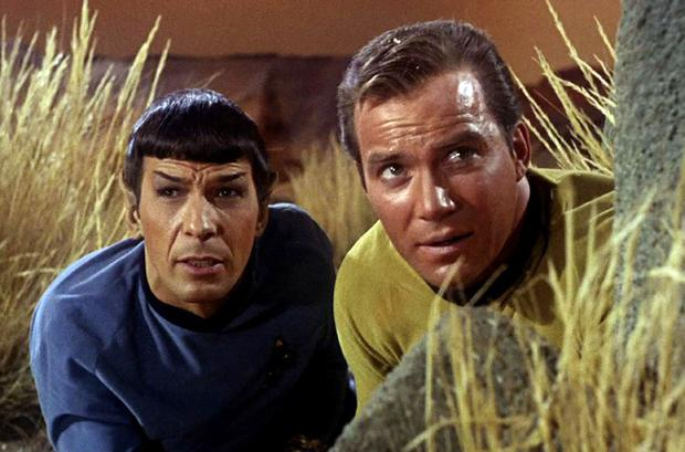 Captain Kirk and Spock from the orginal TV show <b>Photo:</b> Getty Images
