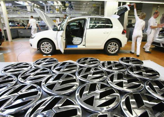 VEM got caught in a short squeeze after betting against Volkswagen stock. Sean Gallup/Getty Images