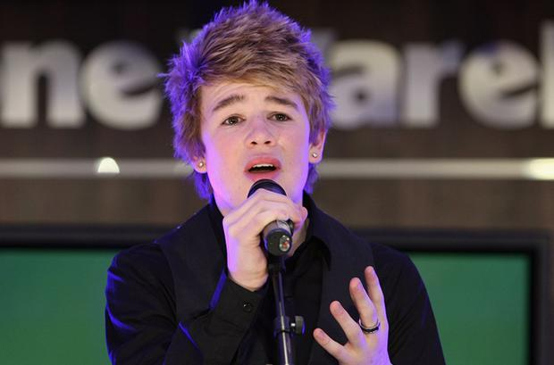 Eoghan Quigg wants to perform at the Eurovision but might face competition from Johnny Logan