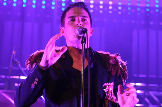 Brandon Flowers of the Killers <b>Photo:</b> Getty Images