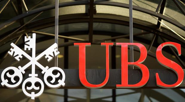 The logo at a UBS branch <b>Photo:</b> Getty Images