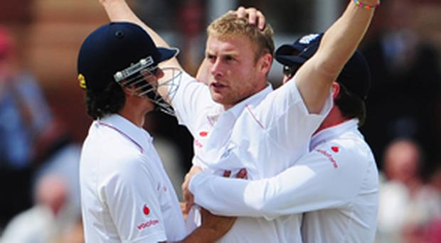 Andrew Flintoff during his playing days with England