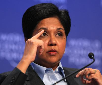 10. Indra Nooyi, 53, CEO of PepsiCo. Photo: Getty Images