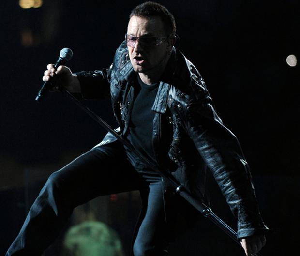 U2's concert at the Pasadena Rose Bowl in California is expected to attract millions of viewers on YouTube. Photo: Getty Images