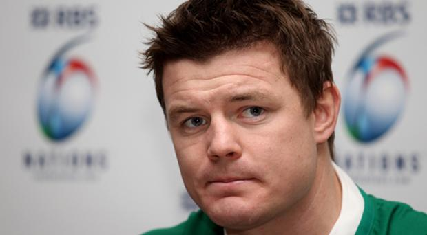 Brian O'Driscoll has spoken of the importance of building on last year's success. Photo: Getty Images