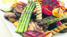 Chargrilled vegetable platter