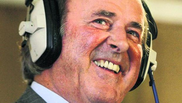 """Sir Terry Wogan...File photo dated 07/09/2009 of Sir Terry Wogan revealed he has received """"various offers"""" when asked whether he would make a TV return after Jonathan Ross's exit. PRESS ASSOCIATION Photo. Issue date: Sunday February 14, 2010. The 71-year-old, who has launched his new Sunday radio show, also said he was not ready to express an opinion over Chris Evans' progress as his replacement on the Radio 2 breakfast show. See PA story SHOWBIZ Wogan. Photo credit should read: Katie Collins/PA Wire...E"""