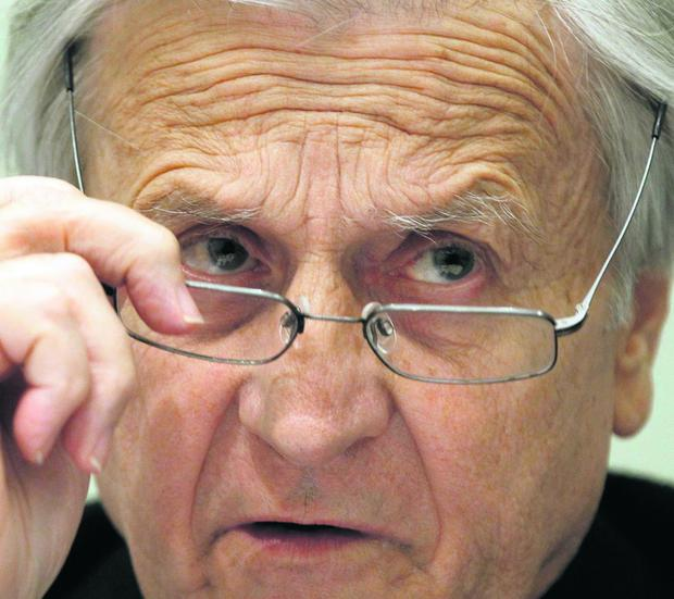 'I do have anxieties about surmounting the present difficulties,' admits Jean-Claude Trichet