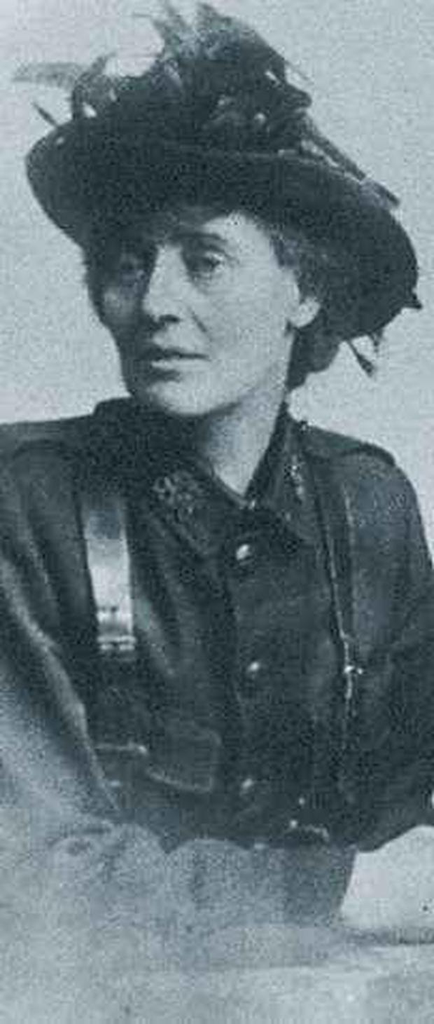 CONSTANCE MARKIEVICZ: A bloodthirsty show-off who got a kick out of wearing uniforms