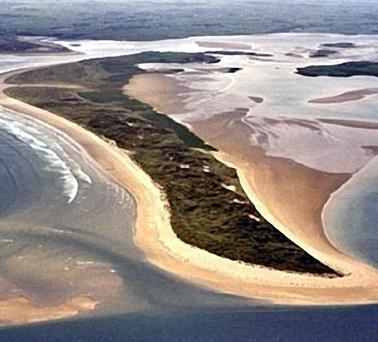 Bartragh Island in Killala Bay, Co Mayo . . . it is reported to have been sold to golf superstar Nick Faldo for some stg£2.5m and he hopes to design a world class links course on the 367-acre site.