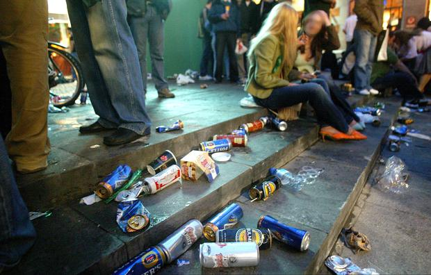STREETS OF SHAME: Dublin is a shambles due to excessive and underage drinking