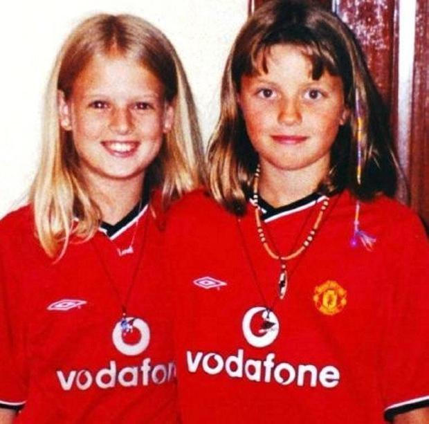 NIGHTMARE: Holly and Jessica; and Ian Huntley, top