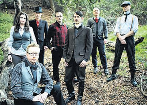 Flogging Molly have a massive following Stateside and are currently on a sell-out nationwide tour