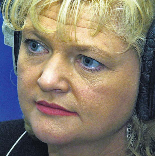 RTE Raidio na Gaeltachta broadcaster Aine Ni Churrain who conducted the interview with the embattled poet Cathal O Searcaigh