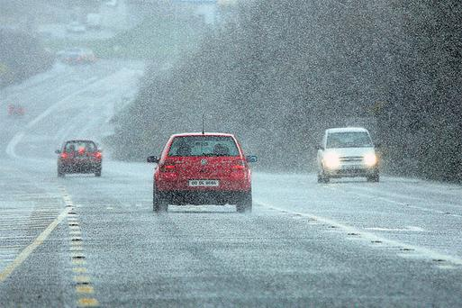Temperatures will plummet each night next week. Motorists will be advised to take care on the roads.