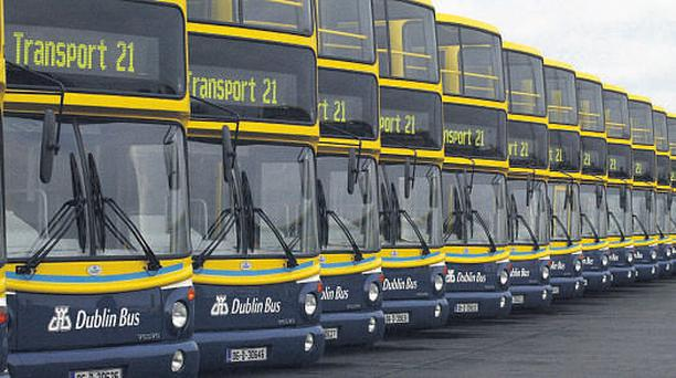 Dublin Bus's most recent colour scheme