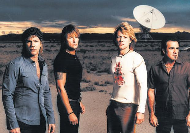 Lost in music: Bon Jovi have swapped fast living for tea and chiropractors