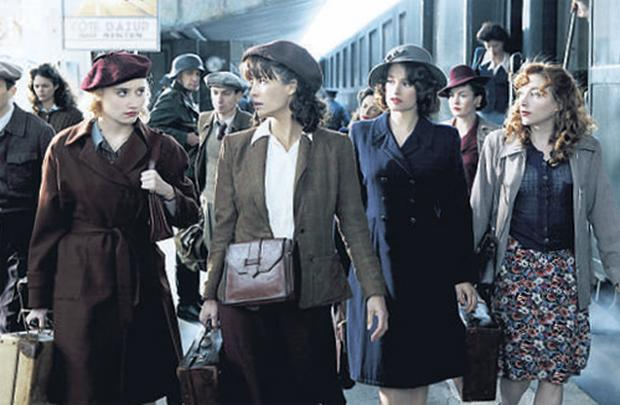 WAR DRAMA: The excellent cast of Female Agents