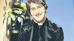 LEGEND: The late Dermot Morgan features on show