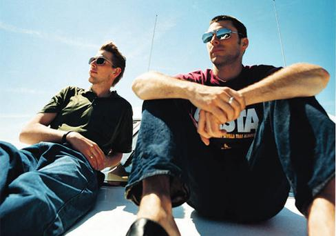 CHILL-OUT KINGS: Andy Cato, left, and Tom Findlay, better known as Groove Armada