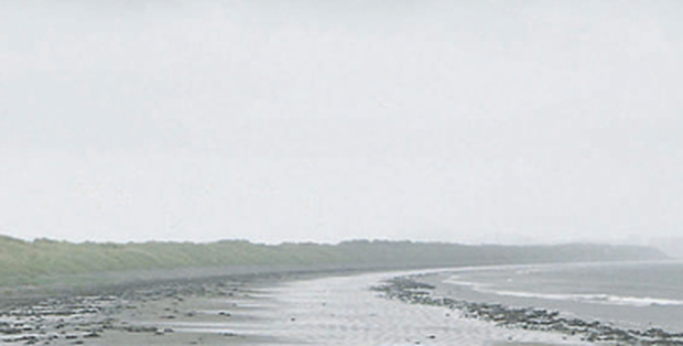 Desolate scenes at Dollymount Strand, Dublin, as Ireland gets bogged down in yet another miserable July. It was also the coolest June for between six and nine years