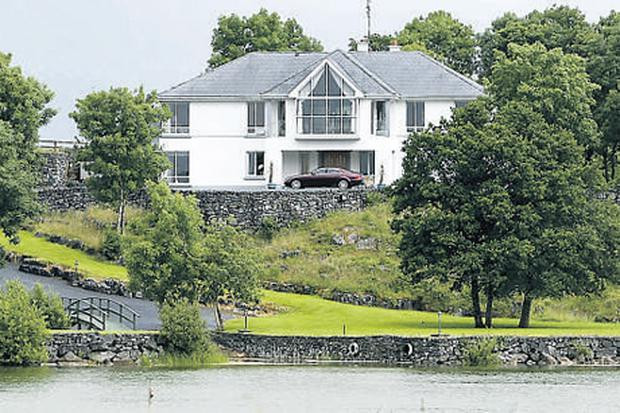 The house in Ennis that Sharon Collins shared with PJ Howard