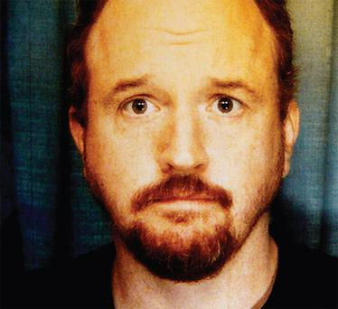 STANDING TALL: Louis CK is currently concentrating on his live act