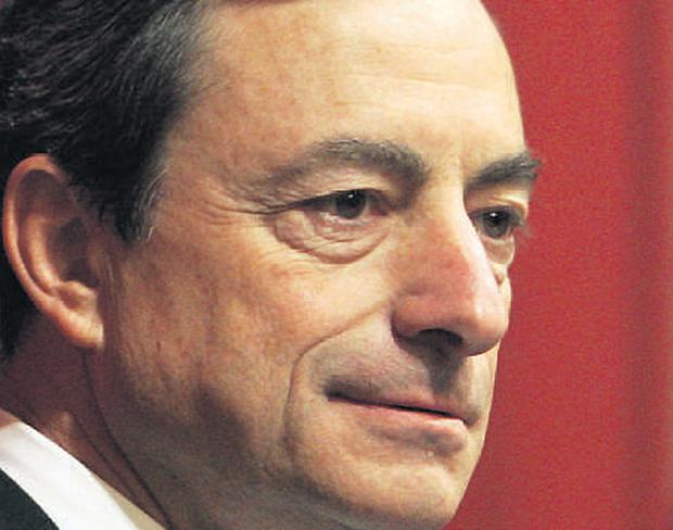 Bank of Italy Governor Mario Draghi calls for concerted efforts by central banks to prevent bubbles