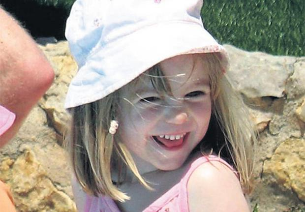 Maddie pictured on the day she disappeared in Praia da Luz in Portugal