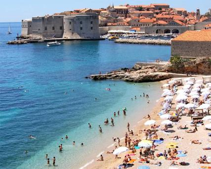 Sights to see: Dubrovnik beach