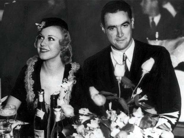 Stars such as Ginger Rogers, pictured with the director Howard Hughes