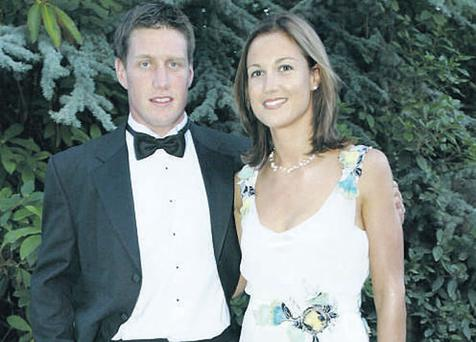 Ronan and his wife Jessica