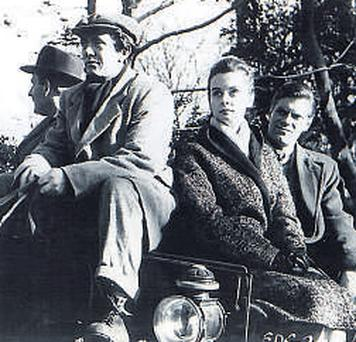 The 1959 film 'This Other Eden' - starring (from left) Leslie Philips, Derry Power, Audrey Dalton and Norman Rodway – will be screened as part of Ardmore's 50th anniversary celebrations <b>Photo:</b> IRISH FILM INSTITUTE RESTORATION