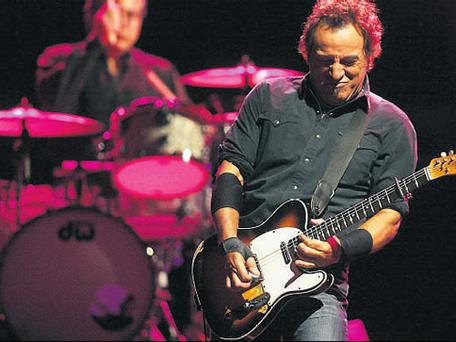 HARD AT WORK: A 24th album has now been penned by Bruce Springsteen and the E Street Band