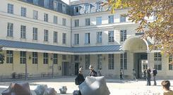 VERY FRENCH: The Centre Culturel Irlandais is a beautifully austere and historic building in the 5th arrondissemen