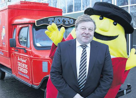 Ray Coyle, founder of Largo Foods which manufactures Tayto crisps and other snack foods