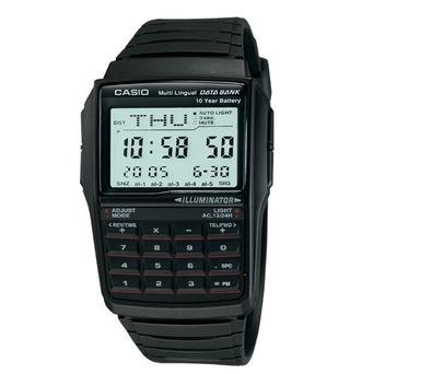 <b>Casio Databank</b><br>While most of us carry mobile phones that can store oodles of data, there's something very satisfying, in a Dick Tracy kind of way, about being able to save information on to your wristwatch. With room for 25 names, addresses and phone numbers, plus a calculator, this is a neat back-up for forgetful phone-owners.<br>&euro;60 at amazon.co.uk