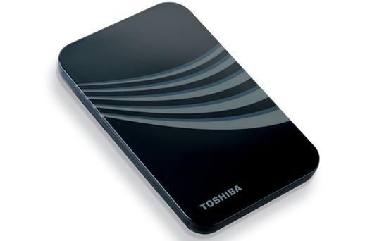 <b>Toshiba 320GB portable hard drive</b><br /> Every budding paparazzo needs one of these for storing their photographs. With 320GB of memory, this portable hard drive can hold thousands of high resolution images. It's shock resistant and plug-and-play compatible.<br /> From amazon.co.uk