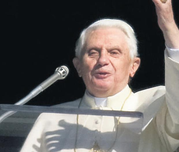 Hotline to heaven: Pope Benedict is concerned by the explosion of 'mystics' who claim they can speak to God
