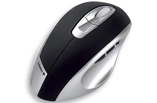 <b>Cherry Ergo-Shark</b><br /> Left-handers can get back at their right-handed rivals with this specially designed mouse. It is wireless, has a four-way scrolling function and is moulded to fit left hands perfectly.<br /> anythingleft -handed.co.uk