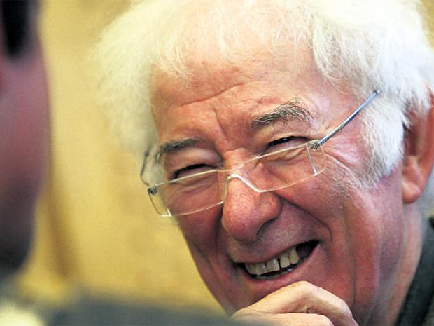 Poet Seamus Heaney at the launch of the Yeats Trail in City Hall, Sligo, yesterday