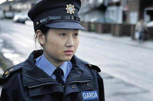 Garda Dongdong Zheng, who is originally from China, graduated from Templemore last week. She is now a well-known face on her Swords beat