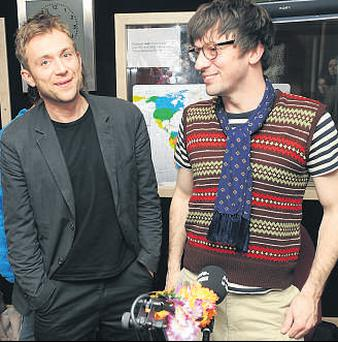 Blur surprised many with an unlikely comeback announced late last year after singer Damon Albarn and guitarist Graham Coxon buried the hatchet. Now the quartet are to headline this year's Oxegen at Punchestown